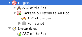 Example Shell Script Target